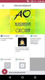 AlternativaRadioCR - náhled