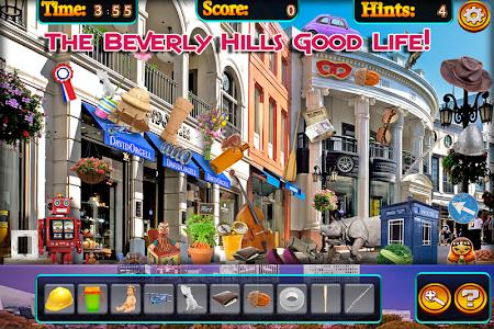 Hidden Objects - Beverly Hills screenshot 1