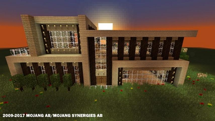 Modern Houses For Minecraft Android Apps On Google Play