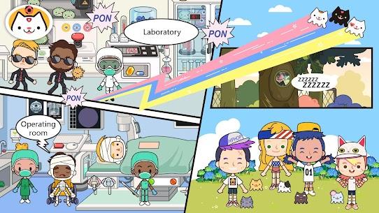 Miga Town: My Hospital MOD (Unlock All Scenes/Characters) 5