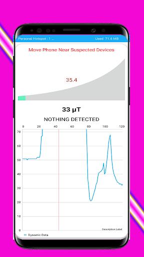 Hidden Camera Detector By Magnetic Sensor 1.1 screenshots 2