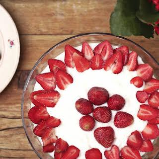 Strawberry Layered Dessert.