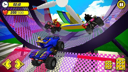 Quads Superheroes Stunts Racing 1.5 screenshots 4