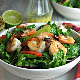 Citrus Grilled Shrimp Salad.