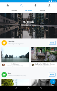 500px – Discover great photos- screenshot thumbnail