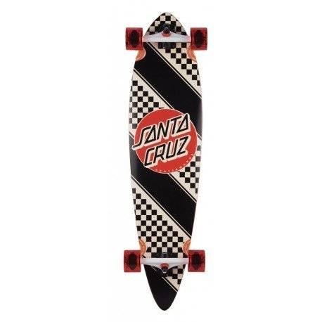 Santa Cruz - Check Stripe Pintail Complete Longboard