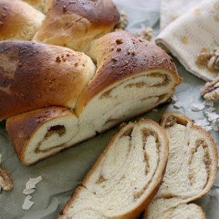 Romanian Easter Braid w/ Walnut-Coconut-Rum Filling