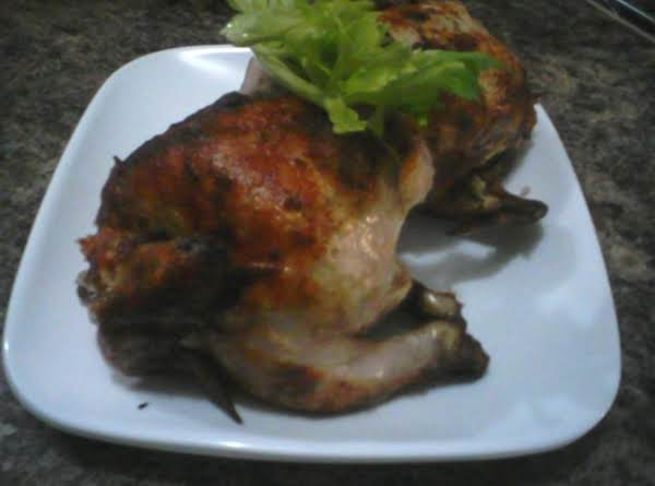 Cornish Game Hens  Basted With A Compound Butter Recipe