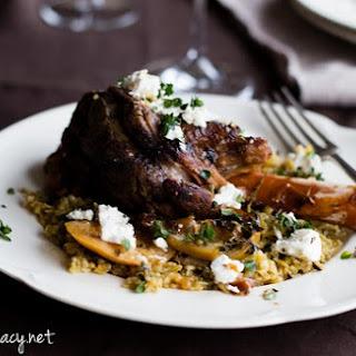 Greek Lamb Shanks.