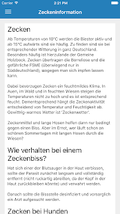 ZeckenApp- screenshot thumbnail
