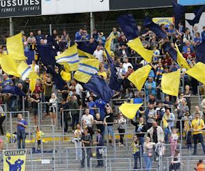 ? Union-fans laten zich horen op weg naar het Astridpark: is een stunt tegen Anderlecht in de maak?