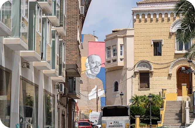 Paco Martín conquista un rincón de Cartagena