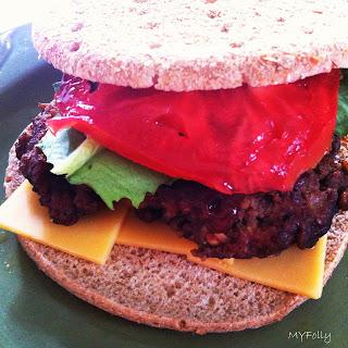 Bison Burger.