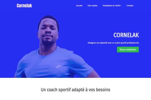 Création de site internet fitness