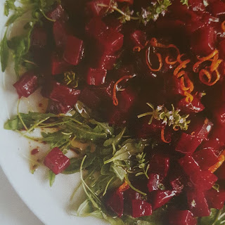 Sweet and Sour Glazed Beets