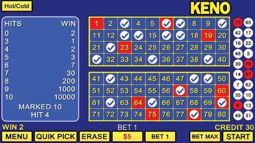 Keno Games OFFLINE FREE - Vegas Casino  screenshots 1
