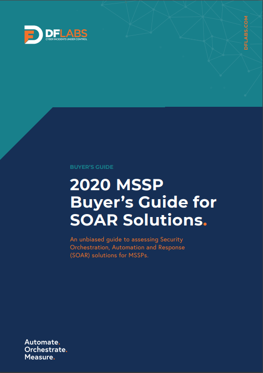 2020 MSSP Buyer's Guide for SOAR Solutions