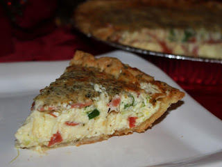 Italian Christmas Quiche Recipe