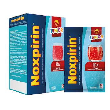 Noxpirin F Junior Kola   Caj.X6Sob. Sie Acetaminofé Fenilefri Clorfenira