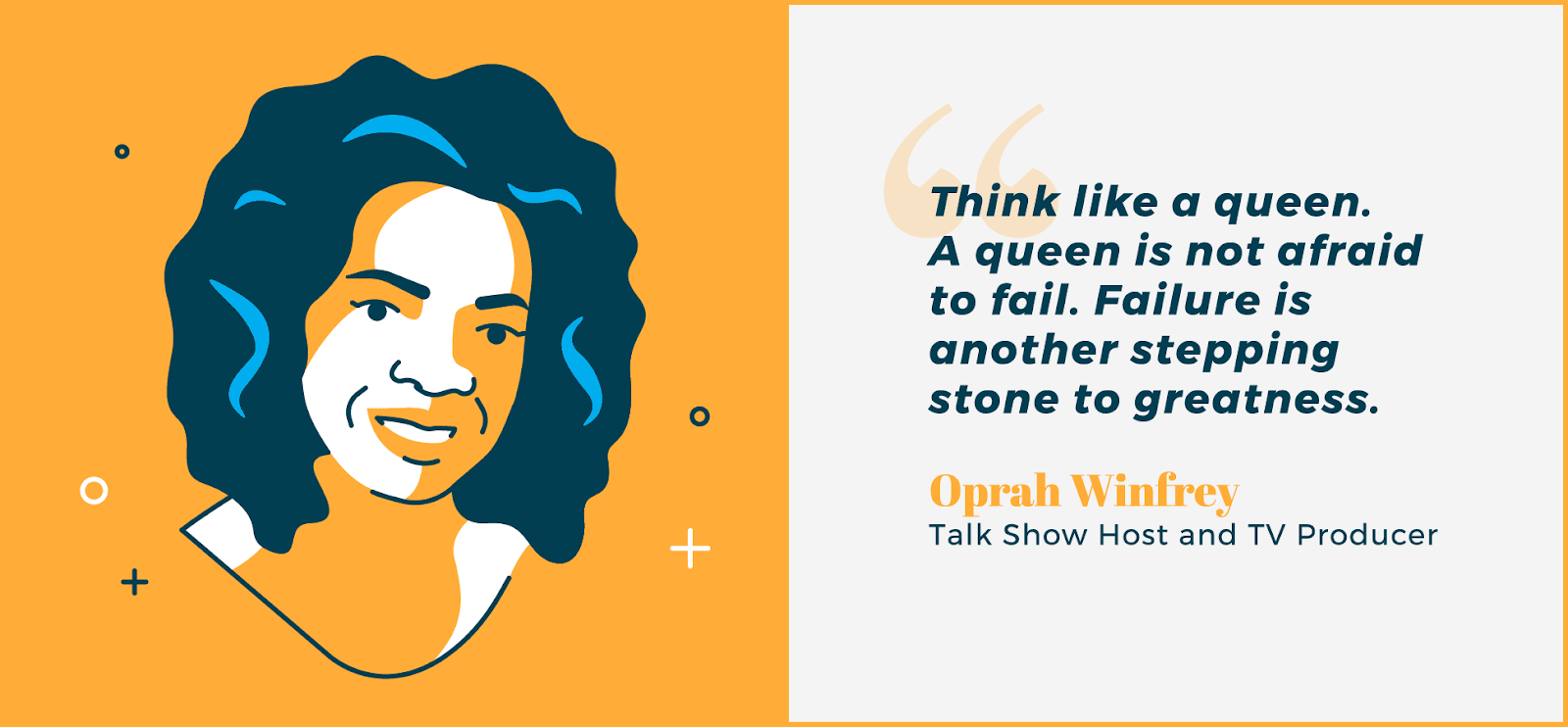 Boss lady quotes - Oprah Winfrey