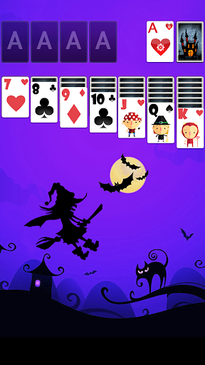 Solitaire HalloweenParty Theme
