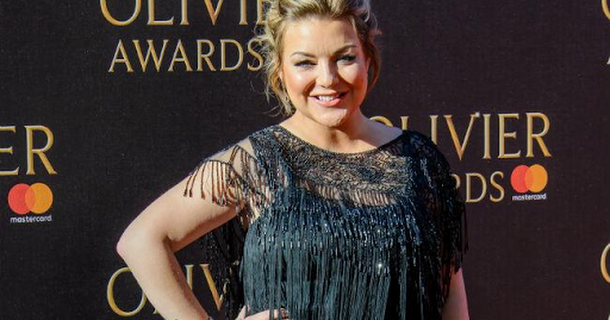Sheridan Smith chowed down on chicken nuggets Cleaning Up