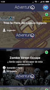 AdventurIQ: miniatura de captura de pantalla