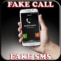 Fake SMS & call icon