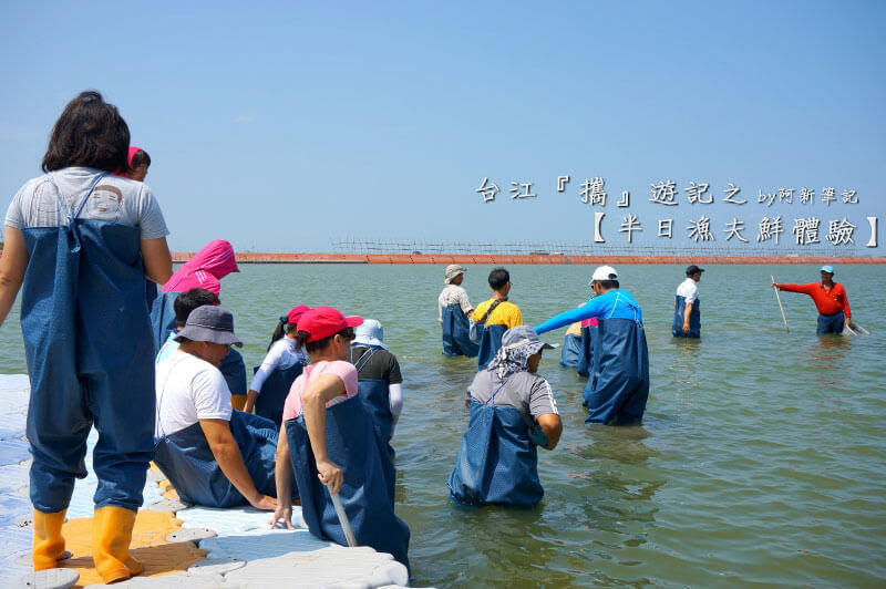 台江攜遊記之半日漁夫鮮體驗