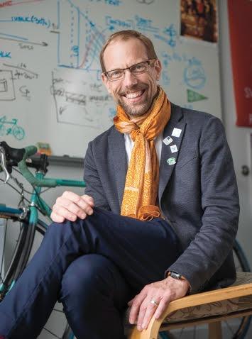 Professor Dan Brabander, Frost Professor Environmental Sciences