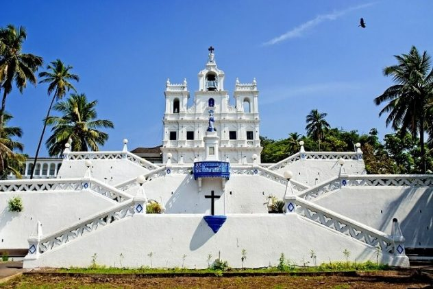 Things To Do In Goa - Places To Visit church