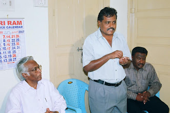 Photo: Inaugural address by our chief Guest,Mr.Sudarshan,Director-JSS,Ministry of HRD,Govt of India