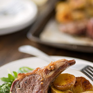 Oven-Baked Lamb Chops.