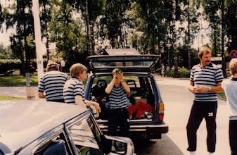 Photo: Segern är vår 1985