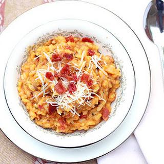 Chicken Pumpkin Mushroom Risotto Recipes