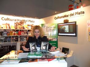Photo: en el stand de Mar del Plata. 37º FERIA iNTERNACIONAL DEL LIBRO DE BUENOS AIRES 2011 .REPUBLICA ARGENTINA.