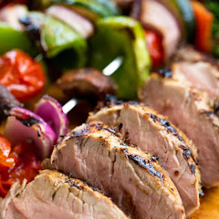Perfectly Juicy Grilled Pork Tenderloin.