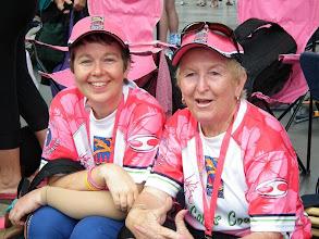 Photo: Dragons Abreast Coffs Coast CNY 2011. Kerry Weldon & Carol Dodds