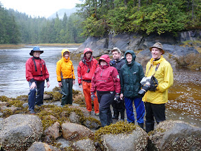 Photo: A group shot at the estuary.  Photo by Ben.