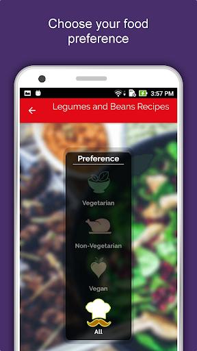 Legumes & Beans Recipes, Healthy, Offline, Salad 1.1.5 screenshots 1