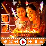 Diwali Photo Video Music Maker