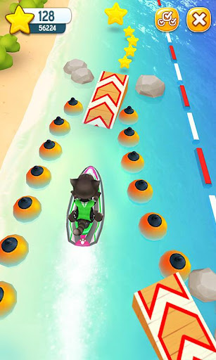 Talking Tom Jetski screenshot 2
