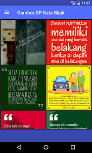 Gambar DP Kata Bijak - náhled