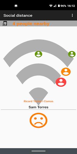 Social distance screenshot 1