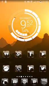 Golden Glass Nova Icon Pack v7.4 [Paid] APK 6