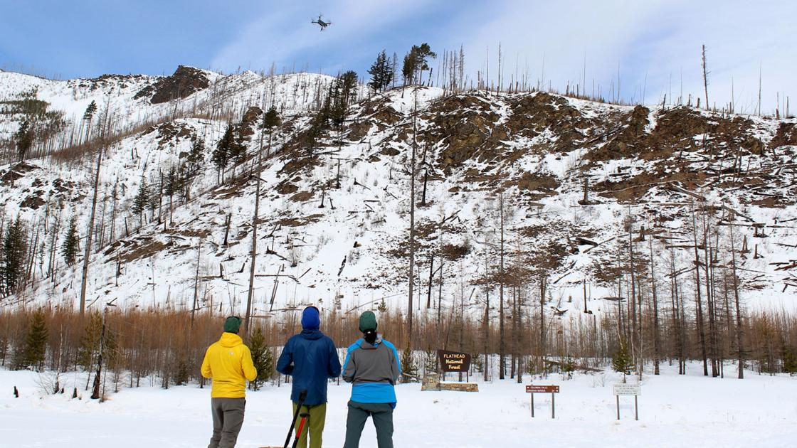drones may help predict avalanches