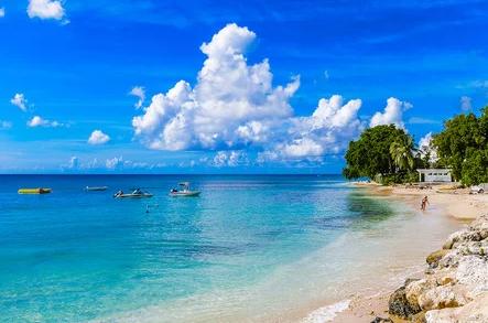 Enjoy the beautiful breezes on Barbados beaches.