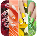 Nail Art Designs step by step free Icon