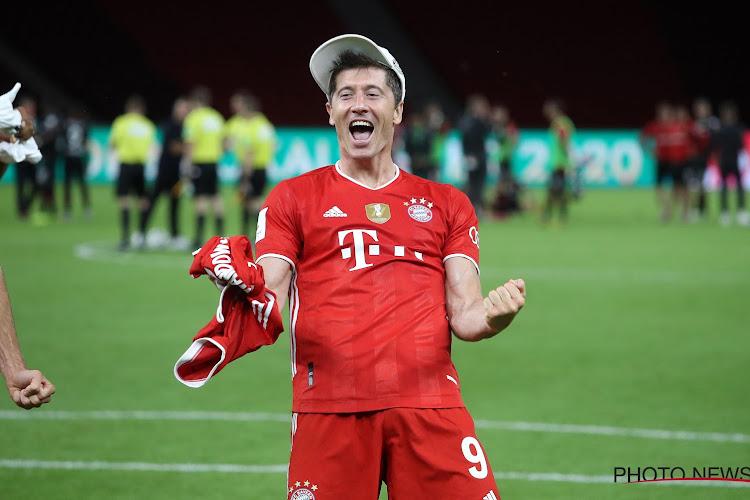 🎥  Robert Lewandowski gaf weergaloze assist bij Bayern München