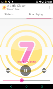 Radio 7 Albania- screenshot thumbnail